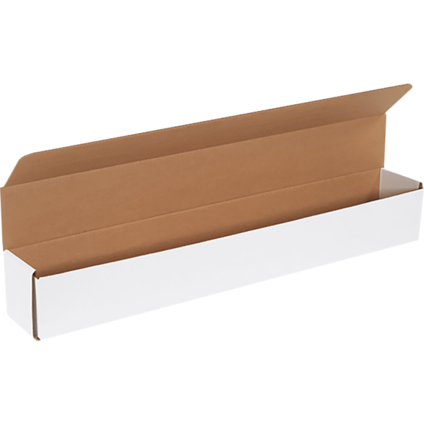Corrugated Mailers - 30 x 4 x 4 White