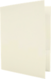 Capacity Folders (9 1/2 x 12) Natural Linen