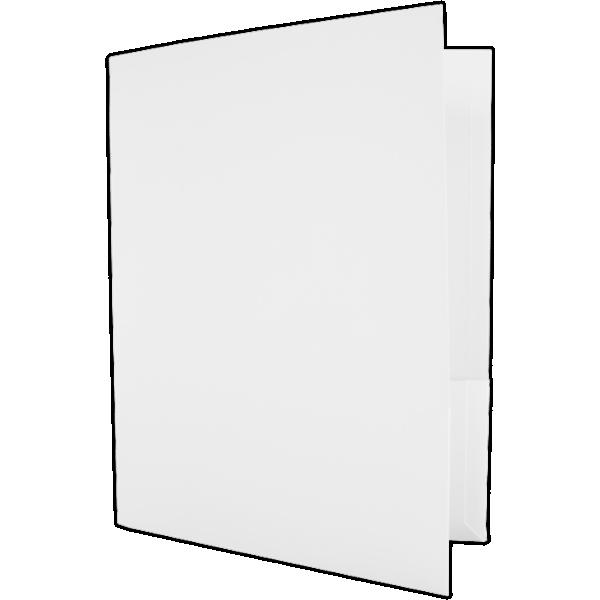 Capacity Folders (9 1/2 x 12) White Linen