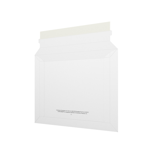 7 3/8 x 9 5/8 CONFORMER® Mailers 14PT White