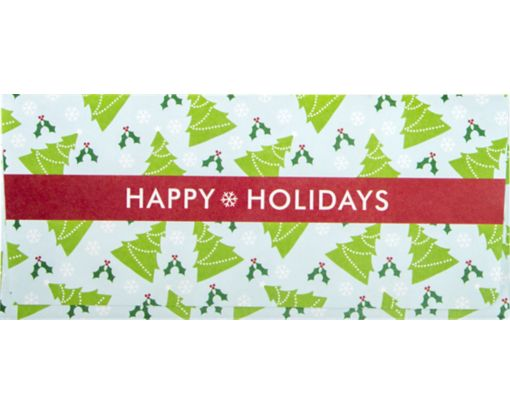 Currency Envelopes (2 7/8 x 6 1/2) Christmas Trees