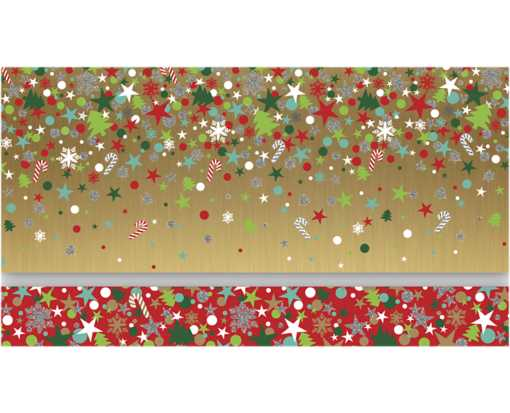 Currency Envelopes (3 1/2 x 8 1/2) (Set of 4 w/Envelopes) Christmas Party