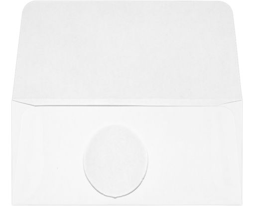Currency Envelope Window (2 3/4 x 6 5/16) 28lb. White