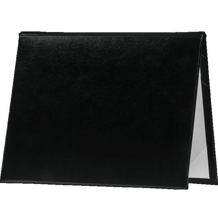 6 x 8 Diploma Cover - Padded Black