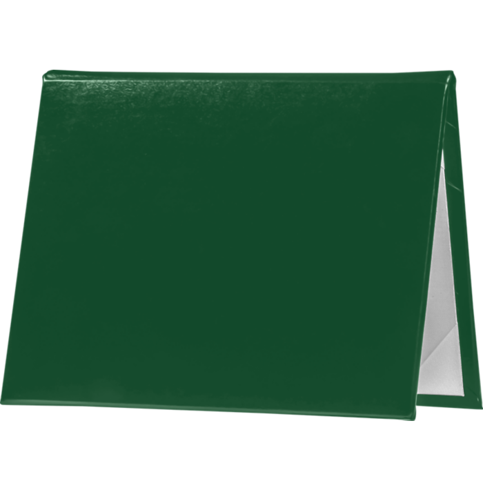 5 x 7 Diploma Cover - Padded Green