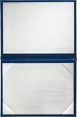 5 x 7 Diploma Cover - Padded Royal Blue