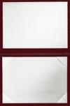6 x 8 Diploma Cover - Padded Maroon