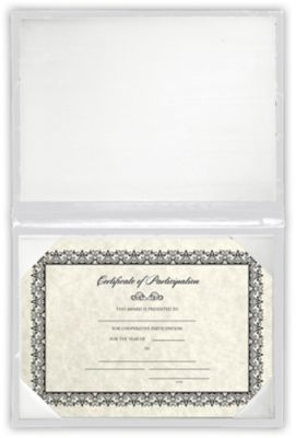 6 x 8 Diploma Cover - Padded White