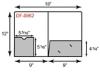 "9"" x 12"" Presentation Folders - One Pocket w/ Disc Sleeve"