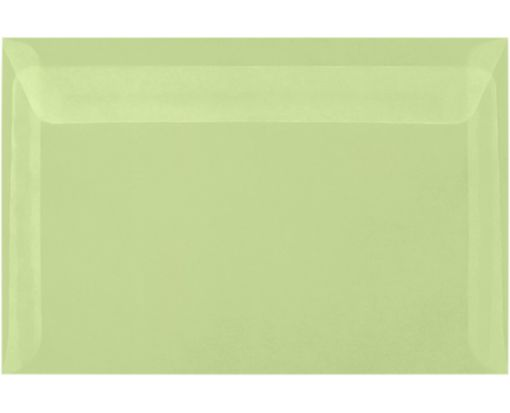 6 x 9 Booklet Envelopes Leaf Translucent