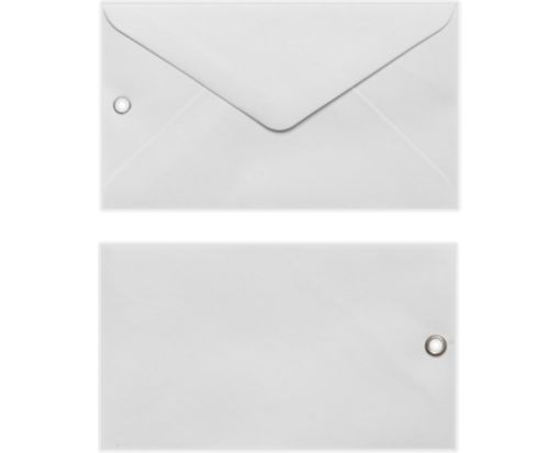#63 Mini Envelope with Grommet (2 1/2 x 4 1/4) White