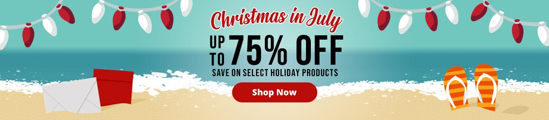 Christmas in July   Envelopes.com