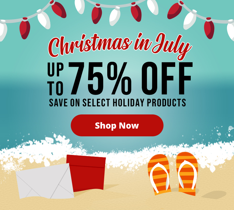 Christmas in July | Envelopes.com