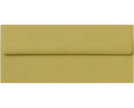 #10 Square Flap Envelopes (4 1/8 x 9 1/2) Olive