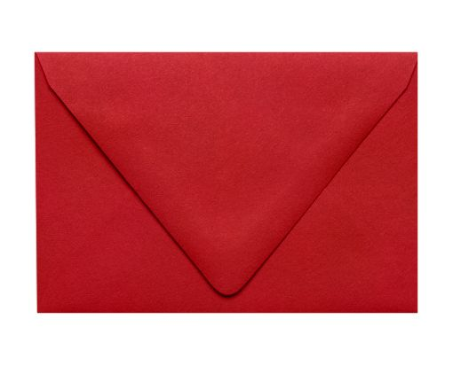 6 x 9 Booklet Contour Flap Envelopes Ruby Red