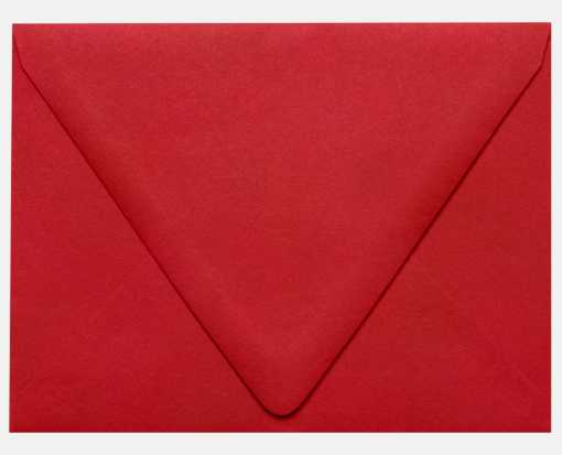 A2 Contour Flap Envelopes (4 3/8 x 5 3/4) Ruby Red