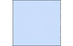 6 1/4 x 6 1/4 Petals Top Layer Card Baby Blue