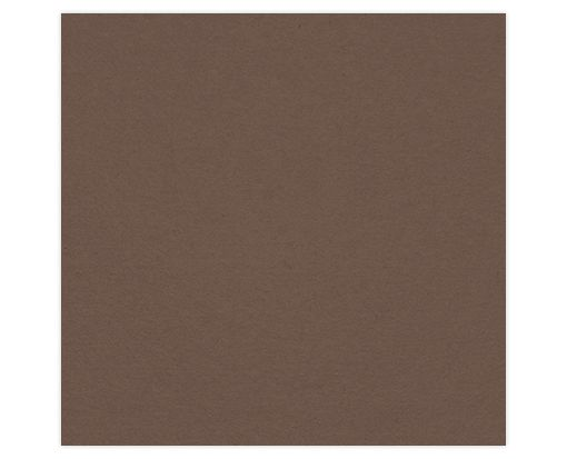 6 1/4 x 6 1/4 Petals (5 5/8 x 5 5/8) Middle Layer Card Chocolate