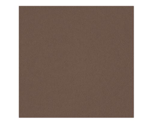 6 1/4 x 6 1/4 Petals (5 1/8 x 5 1/8) Top Layer Card Chocolate