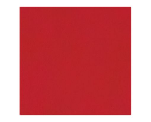 6 1/4 x 6 1/4 Petals (6 1/8 x 6 1/8) Base Layer Card Ruby Red