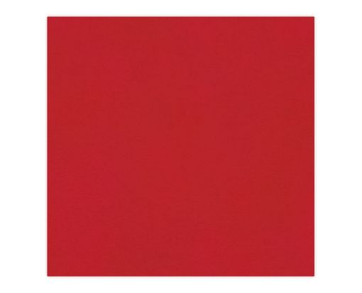 6 1/4 x 6 1/4 Petals (5 5/8 x 5 5/8) Middle Layer Card Ruby Red