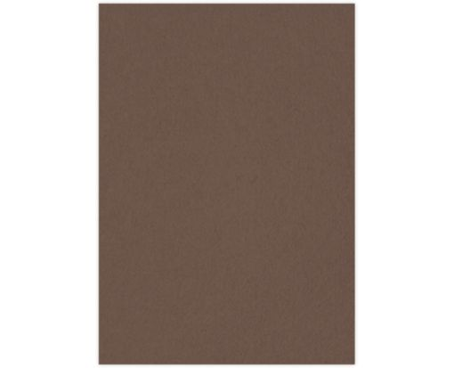 A7 (4 1/4 x 6 1/4) Middle Layer Card Chocolate