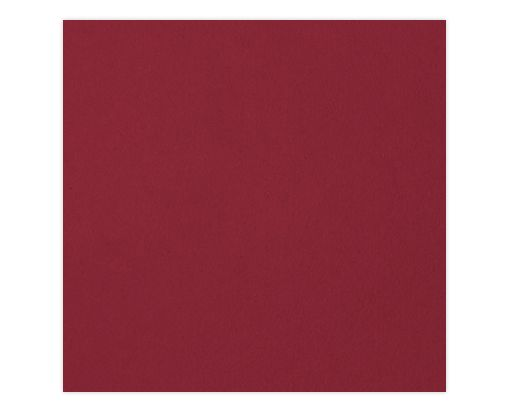 6 1/4 x 6 1/4 Petals (5 1/8 x 5 1/8) Top Layer Card Garnet