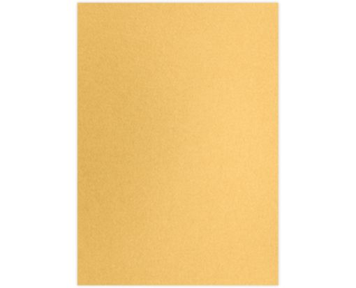 A7 (4 1/4 x 6 1/4) Middle Layer Card Gold Metallic