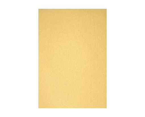 6 x 6 Pockets (5 1/4 x 5 1/4) Middle Layer Card Gold Metallic