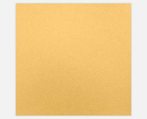 6 1/4 x 6 1/4 Petals (5 5/8 x 5 5/8) Middle Layer Card Gold Metallic