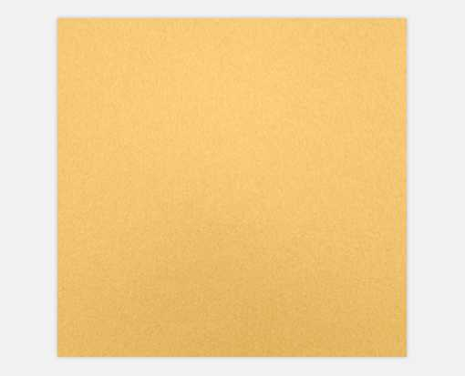 6 1/4 x 6 1/4 Petals (5 1/8 x 5 1/8) Top Layer Card Gold Metallic