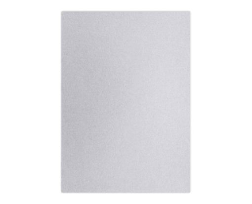 A7 (4 3/4 x 6 3/4) Base Layer Card Silver Metallic