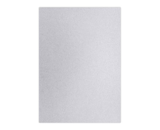 A7 (4 1/4 x 6 1/4) Middle Layer Card Silver Metallic