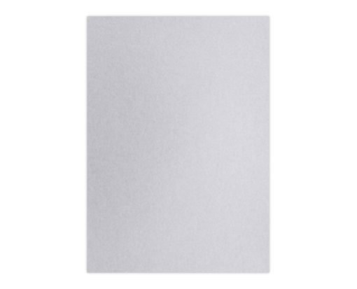A7 (3 3/4 x 5 3/4) Top Layer Card Silver Metallic