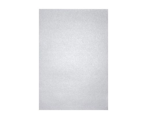 6 x 6 Pockets (5 1/4 x 5 1/4) Middle Layer Card Silver Metallic
