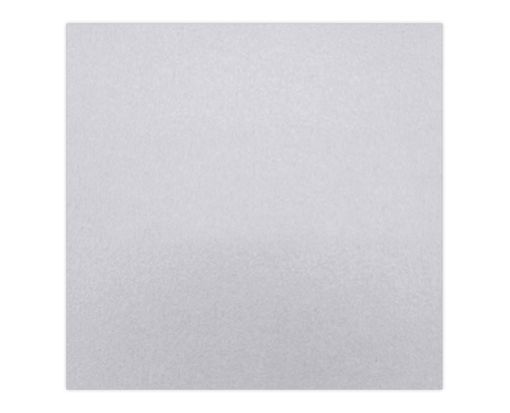 6 1/4 x 6 1/4 Petals (6 1/8 x 6 1/8) Base Layer Card Silver Metallic
