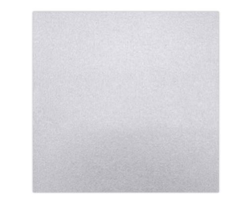 6 1/4 x 6 1/4 Petals (5 5/8 x 5 5/8) Middle Layer Card Silver Metallic