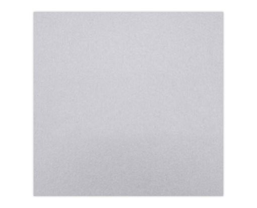 6 1/4 x 6 1/4 Petals (5 1/8 x 5 1/8) Top Layer Card Silver Metallic