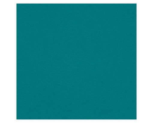 6 1/4 x 6 1/4 Petals (5 5/8 x 5 5/8) Middle Layer Card Teal