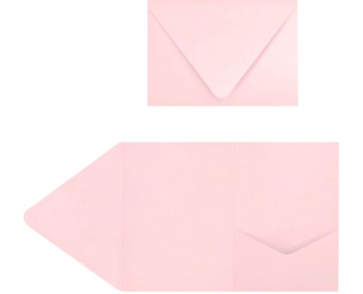 A7 Pocket Invitations (5 x 7) Candy Pink