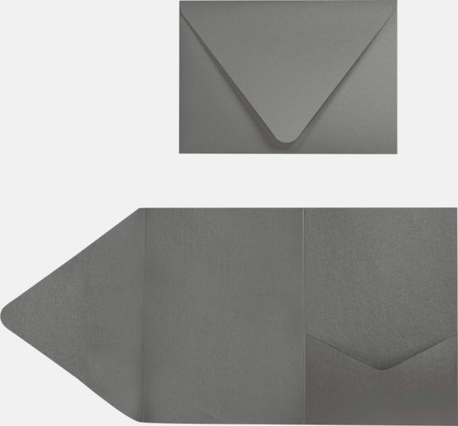 smoke gray a7 pocket invitations 5 x 7 invitations announcements