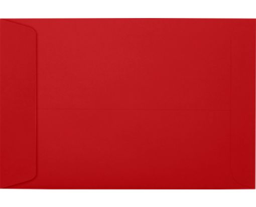 6 x 9 Open End Envelopes Ruby Red