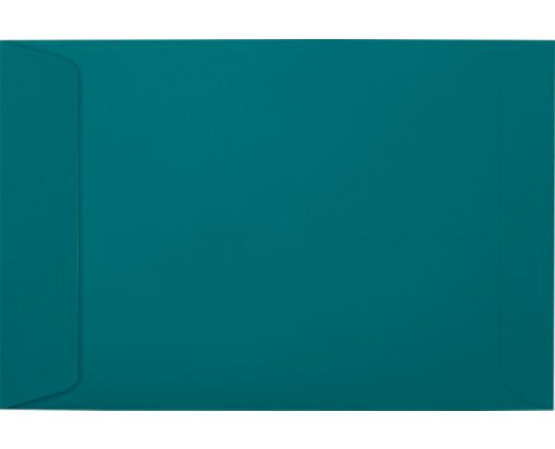 6 x 9 Open End Envelopes Teal