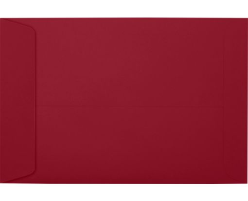 6 x 9 Open End Envelopes Garnet