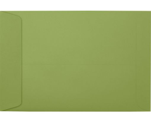 6 x 9 Open End Envelopes Avocado