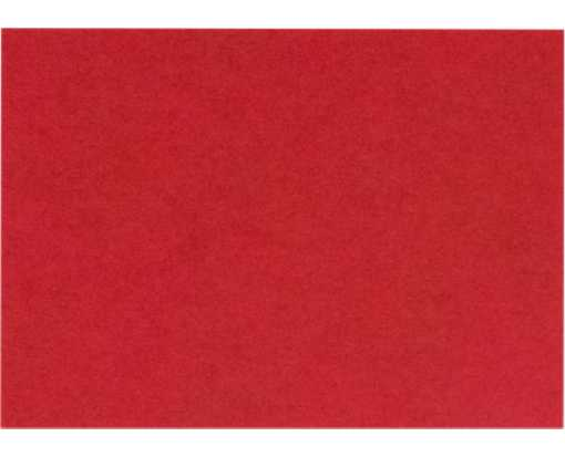 A6 Flat Card (4 5/8 x 6 1/4) Ruby Red