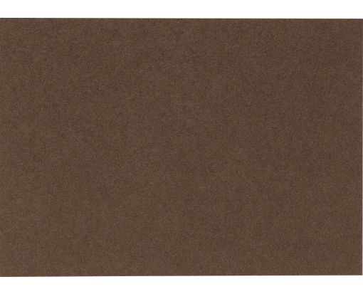 A7 Flat Card (5 1/8 x 7) Chocolate
