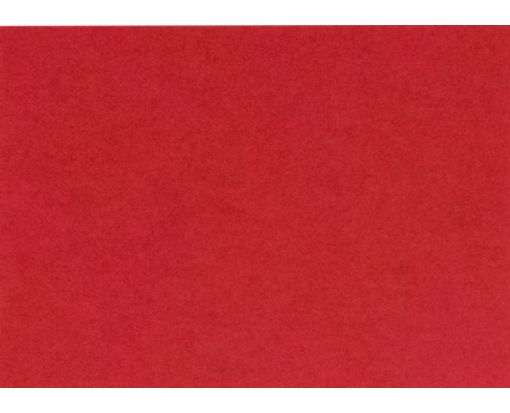A7 Flat Card (5 1/8 x 7) Ruby Red