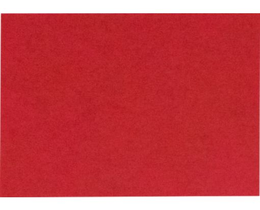 A9 Flat Card (5 1/2 x 8 1/2) Ruby Red