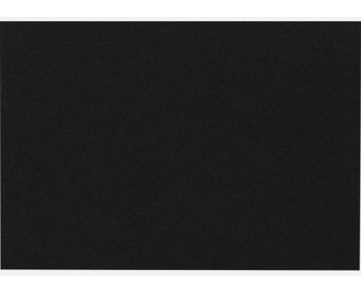 A9 Flat Card (5 1/2 x 8 1/2) Midnight Black